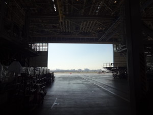 JALとANAの機体工場見学