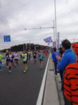 湘南国際マラソン大会 応援